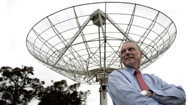 CSIRO researcher John O'Sullivan, the man behind the Wi-Fi patent.