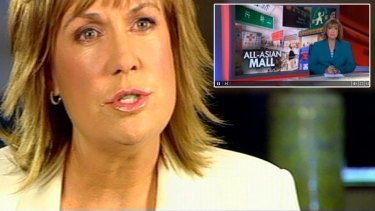 <i>A Current Affair</i> host Tracy Grimshaw is expected to apologise over the airing of a racist story, titled 'All-Asian Mall'.
