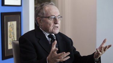 """Professor Alan Dershowitz refutes allegations he had sex with a young woman, Virginia Roberts, who claims she was a """"sex slave"""" controlled by US financier Jeffrey Epstein."""
