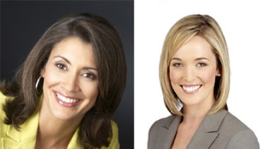 Out and in ... Sonia Vinci has pulled out of the local version of A Current Affair, to be replaced by Louise Momber.