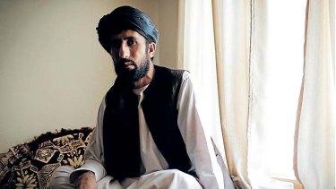 Matiullah Khan at his home in Tarin Kowt, in Oruzgan province.