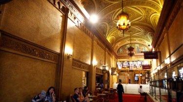 Better days: Inside the Regent Theatre.