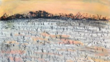 """Assured work"": Ruination of Salt by Marijke Gilchrist in The Luminous Landscape."