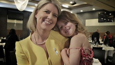 Natasha Stott-Despoja with her daughter Cordelia is Australia's new ambassador for women and girls.