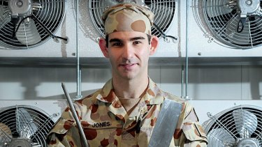 Killed in Afghanistan: Lance Corporal Andrew Gordon Jones.