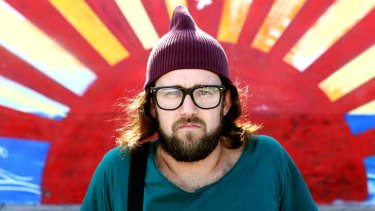 Endangered species? Comedian Christian Van Vuuren is one of the' Bondi Hipsters' who take the mickey out of hipster culture.