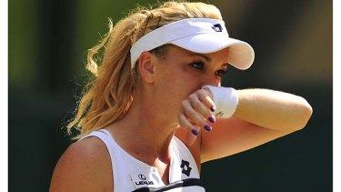 Agnieszka Radwanska during this year's Wimbledon championships.
