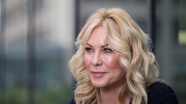 Kerri-Anne Kennerley, whose husband, John, suffered a spinal cord injury after a fall.
