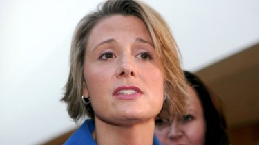 Rapid rise... after less than seven years in New South Wales Parliament, Kristina Keneally overthrew Nathan Rees 47 votes to 21 to become Premier.