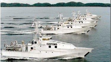 Australian patrol boats.