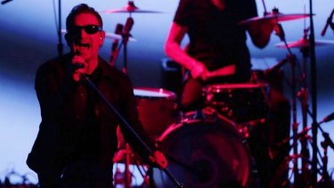 New album: U2 performed at the Apple iPhone launch.