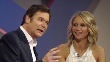 Polarising...Hey Hey it's Saturday hosts Daryl Somers and Livinia Nixon
