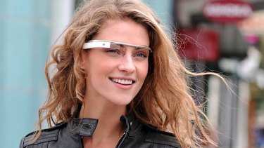 Sleek ... a prototype of Google's Project Glass.