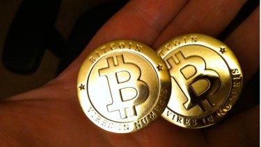 Hot commodity: bitcoins.