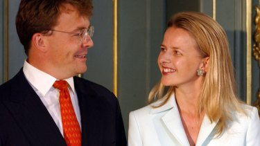 Dutch Prince Johan Friso and his then-fiancee Mabel Wisse Smit in  2003.