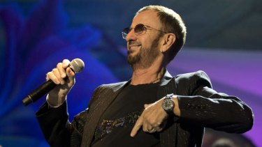 Ringo Starr in his first Australian show since 1964.