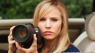 Kristen Bell in the TV series <i>Veronica Mars</i>.