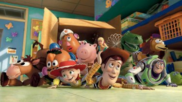 Barely a dry eye in the house ... Toy Story 3 , ''a phenomenal achievement'' for Pixar, dealt with the loss of traditional American values.