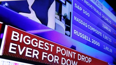 The Dow had two separate days of losing 1,000 points last week.