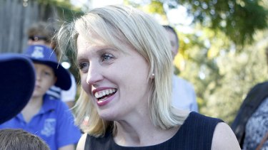The current member for Ashgrove, Kate Jones, has said she's prepared for a tough contest.