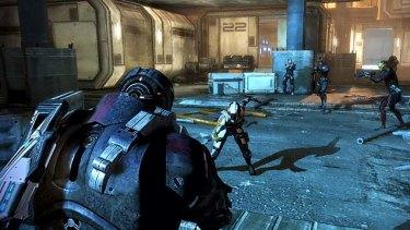 Mass Effect 3.