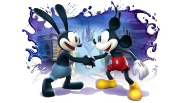 Epic Mickey 2: The Power of Two will re-unite Mickey Mouse and Oswald the Lucky Rabbit.