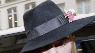 Accused of being anti-semitic ... fashion designer John Galliano.