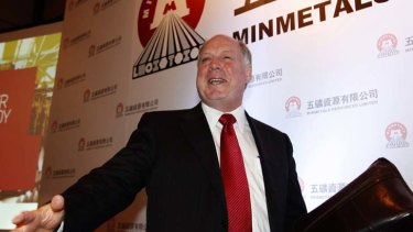 Minmetals Resources chief executive Andrew Michelmore.