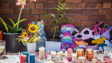 Flower tributes at Dreamworld where four people died after a malfunction with the Thunder River Rapids ride.