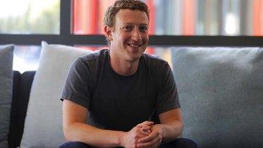 """No one company can really do this by itself:"" Facebook chief executive Mark Zuckerberg."