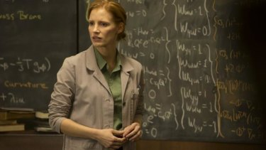 Spaced out: Jessica Chastain says she cried 'nerd tears' when Christopher Nolan offered her a part in sci-fi epic <i>Interstellar</i>.