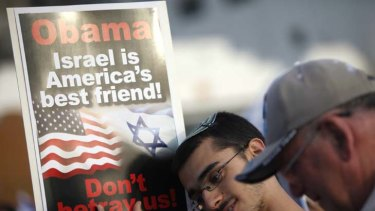 Misrepresentation ... Barack Obama's reaffirmation of support for Israel has helped ease anxiety among Israeli politicians.