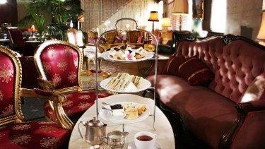 High Tea at The Victoria Room in Darlinghurst, Sydney.