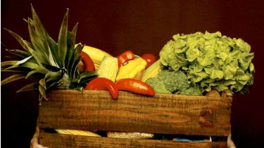 The organic produce shopping list.