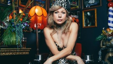 Returning: Cabaret singer Christa Hughes at the Bearded Tit.
