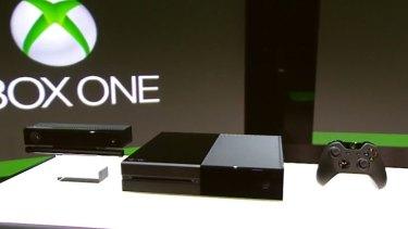 Microsoft's latest Xbox gaming console, Xbox One.