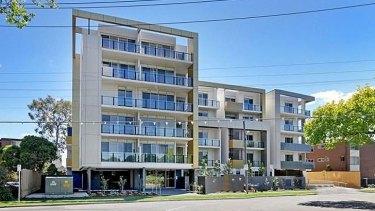 The Parkville apartment block.