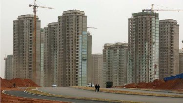 Take your pick: A raft of new developments in Ordos.