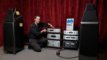 Listening: When demand slows for hi-fi equipment, the quality starts dropping off, says Geoff Haynes, from Tivoli Hi-Fi.