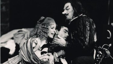 Nose for a role: John Bell plays the title role  in a 1980 Sydney Theatre Company production of <i>Cyrano de Bergerac</i>.