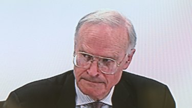 Royal commissioner Dyson Heydon.