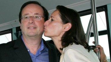 Francois Hollande with Segolene Royal in 2005.