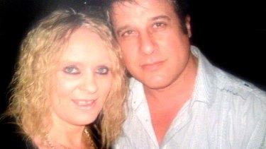 Johanna 'Jazzy O' Martin with Steve Constantinou. The court heard she wanted him as a friend, not a lover.
