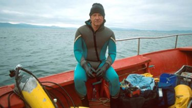 Underwater photographer and conservationist Klaus Jost.