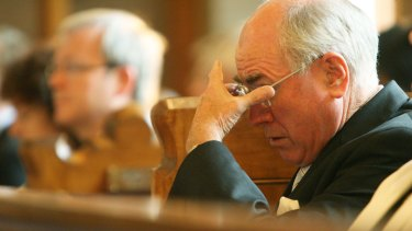 John Howard at the Annual Service of Prayer and Worship to open the 2007 parliamentary year.
