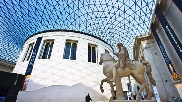 Some of the pieces in the British Museum are part of the same statues that are held in the Acropolis Museum.