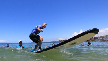 The final day of  the inaugural Settlement Services International (SSI) Surfing Without Borders program for asylum seekers.
