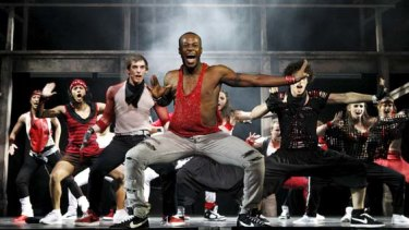 A scene from Fame.