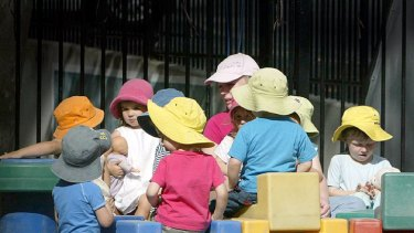The Take a Break program provided occasional childcare for parents of preschool children.