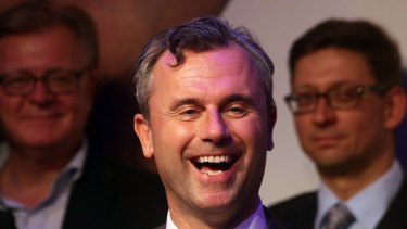 The Austrian Freedom Party's Norbert Hofer.